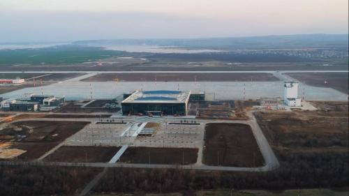 Междунаолжный аэропорт Гагарин Саратов перед открытием. Фото: wikimedia.org